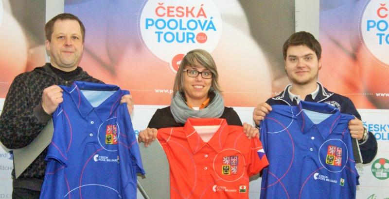 zleva:Jan Suchánek,Veronika Hubrtová,David Žalman