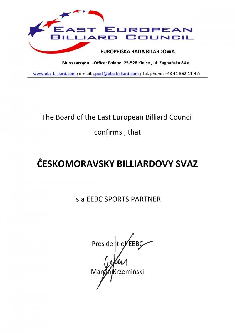 ČMBS je členem EEBC